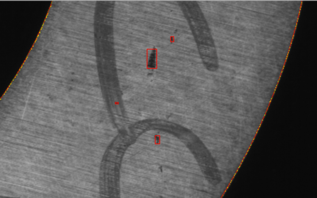 Evaluation of surface defects