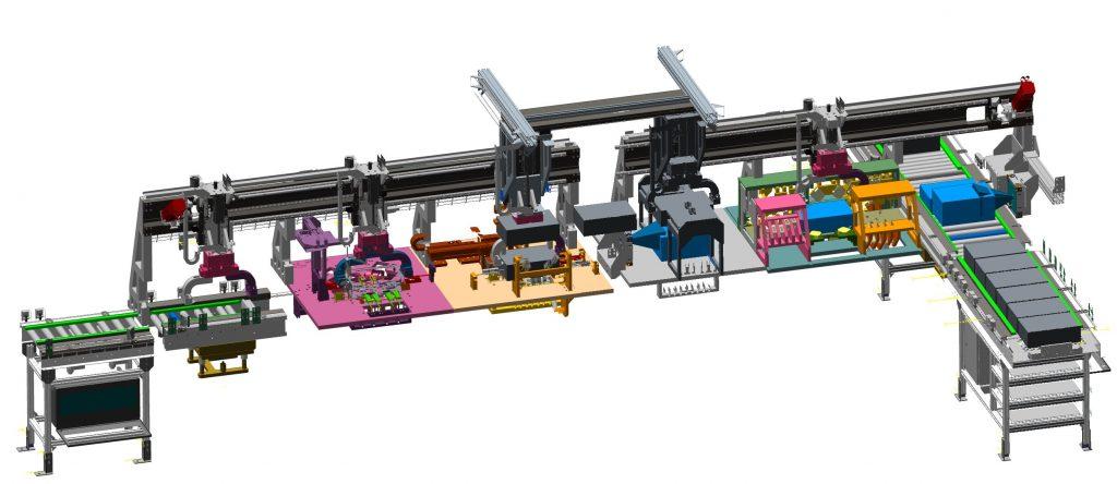 Transfer Gantry Inspection System