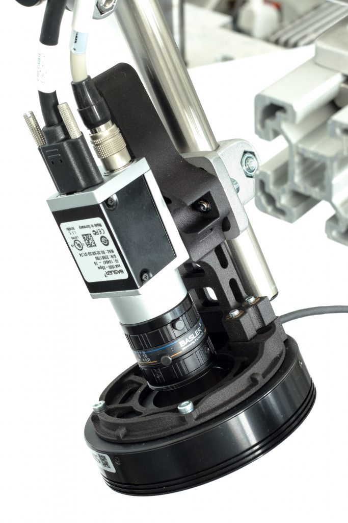 Industrial camera for visual inspection