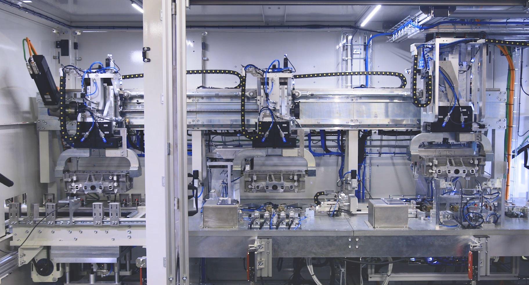 Transfer-Gantry Inspection System